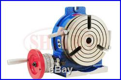 Shars 8'' High Quality Horizontal Vertical Rotary Table +Cert. New Save $188.79