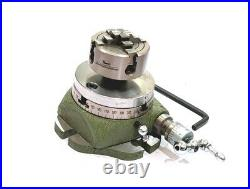 Small Watchmaker 2-3/4 (2.75 Inch) Rotary Table Lathe Jewelry Machine Tools