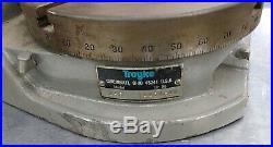 TROYKE 9 VERTICAL / HORIZONTAL ROTARY TABLE Model U-9 MADE IN USA