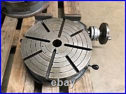 TROYKE Mfg. 15 Rotary Table Vertical/ Horizontal