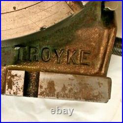 TROYKE U-12 Horizontal & Vertical Precision Rotary Table 12 Table Top