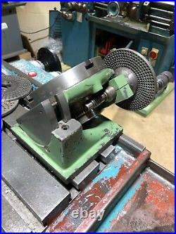 Taylor Hobson 6 inch tilting Rotary Table With Dividing Attachment + 4 Plates