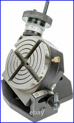 Tilting Rotary Table 4 / 100MM (4 Slot) Suitable Horizontal Vertical