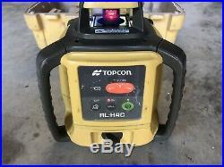 Topcon RL-H4C Vertical Horizontal Long Range Leveling Rotary Laser