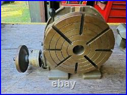 Troyke 12 inch horizontal/vertical rotary table