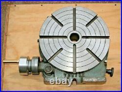 Troyke 15 Precision Rotary Table Horizontal & Vertical Model U-15