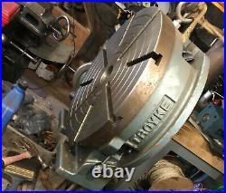 Troyke 15 Rotary Table Machinist Workshop Tool, Horizontal Or Vertical
