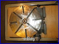 Troyke 15 Rotary Table, Model U15, Horizontal/Vertical
