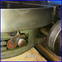 Troyke Horizontal / Vertical 18 Rotary Table Made In USA Bridgeport MILL