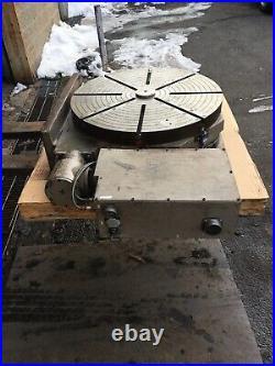 Troyke Horizontal & Vertical Rotary Model NC-30-C-360 30 table