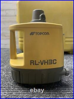 Used Topcon RL-VH3C Vertical & Horizontal Self Leveling Rotary Laser Level
