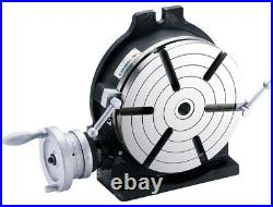 VERTEX HV-10 10 Horizontal / Vertical Rotary Table with Face Plate (6 Slots)