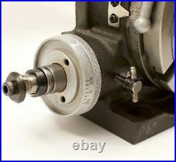 VERTEX HV-6 6 Horizontal / Vertical Rotary Table with Face Plate