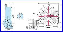 VERTEX HV-8 (4-Slot) 8 Horizontal/Vertical Rotary Table with 4-Slot Face Plate