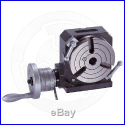 Vertex, Horizontal and Vertical Rotary Table, 4 inches, HV-4, 1001-000