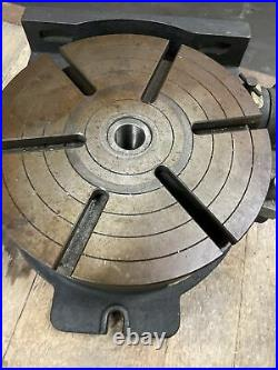 Vertex Machinery 12 Horizontal Vertical Low Profile Rotary Table HV-12 Mill