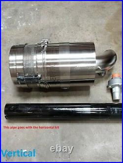 Vertical or Horizontal Truck Mounting Kit Howden Roots Rotary Lobe Air Blower
