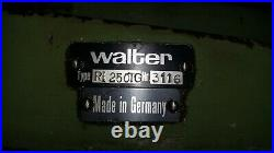 Walter Rotary Table with Dividing Plates R1250TG #3116 10 inch Table