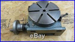 XLNT Yuasa 10 550-050 Horizontal Vertical Rotary Table