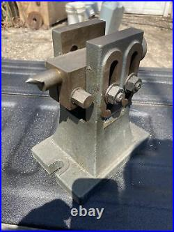 YUASA 553-311 Adjustable Height Tailstock For 12 & 14 H/V Rotary Table Milling