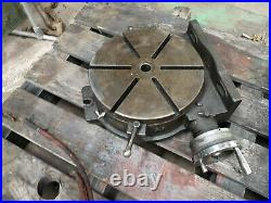 Yuasa 14 horizontal vertical rotary table smooth operation
