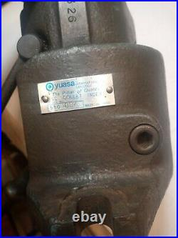 Yuasa 550-004 5c Horizontal/Vertical Collet Indexer/Spin Fixture/Index/Rotary