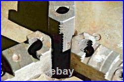 Yuasa 550-007 Rotary Indexer Super Spacer 3 Jaw Chuck. 8, Vertical/horizontal