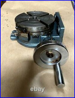 Yuasa 550-046 6 Rotary Table Vert & Hor Was Display Old And Rusty But Work Good