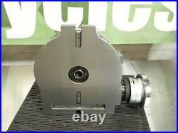 Yuasa Horizontal / Vertical Rotary Machining Table 10 Diam. 3MT 550-050 Damaged